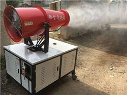 长春工地喷雾降尘设备施工及地基